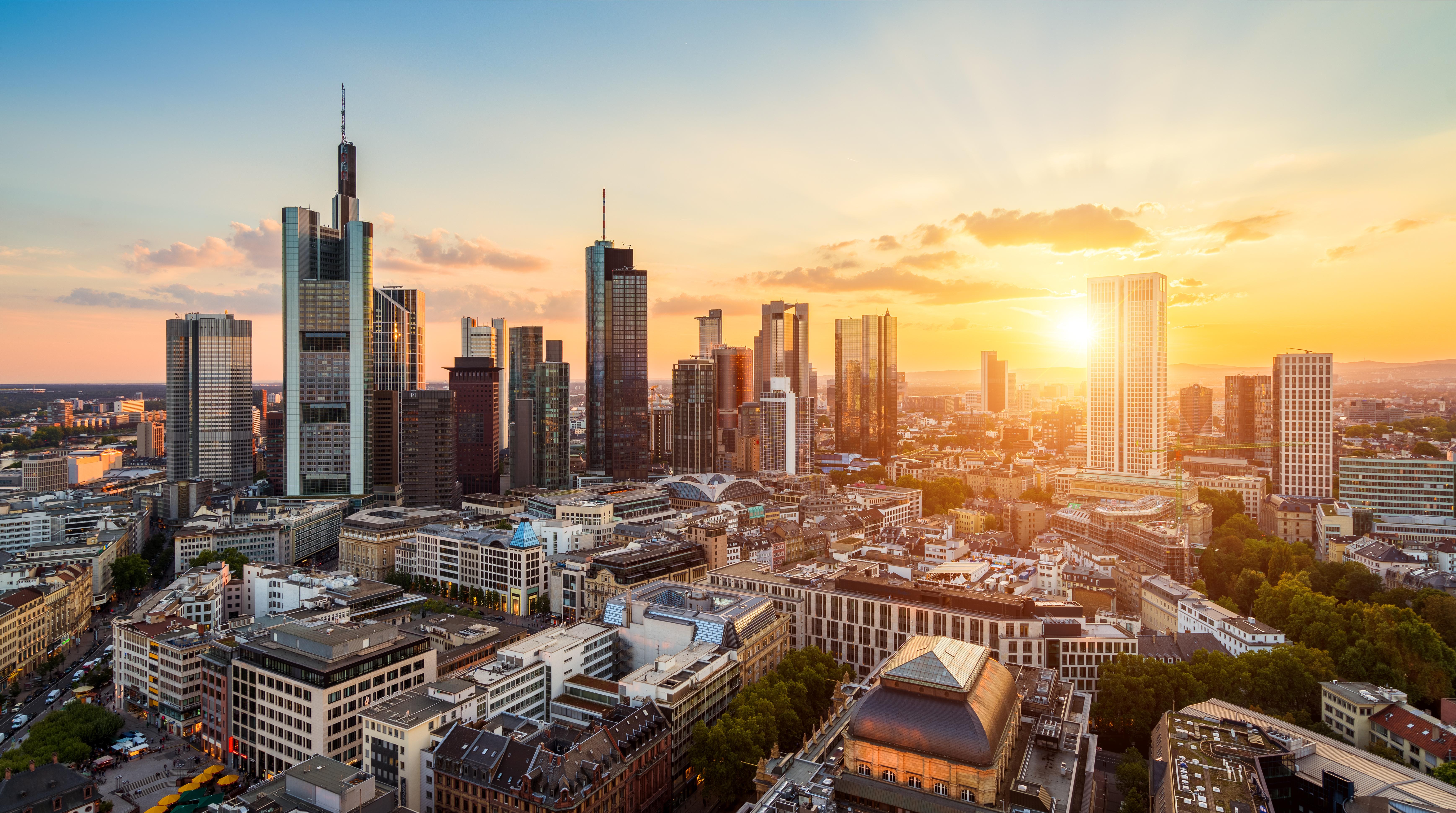 Frankfurt Skyline - Startseite